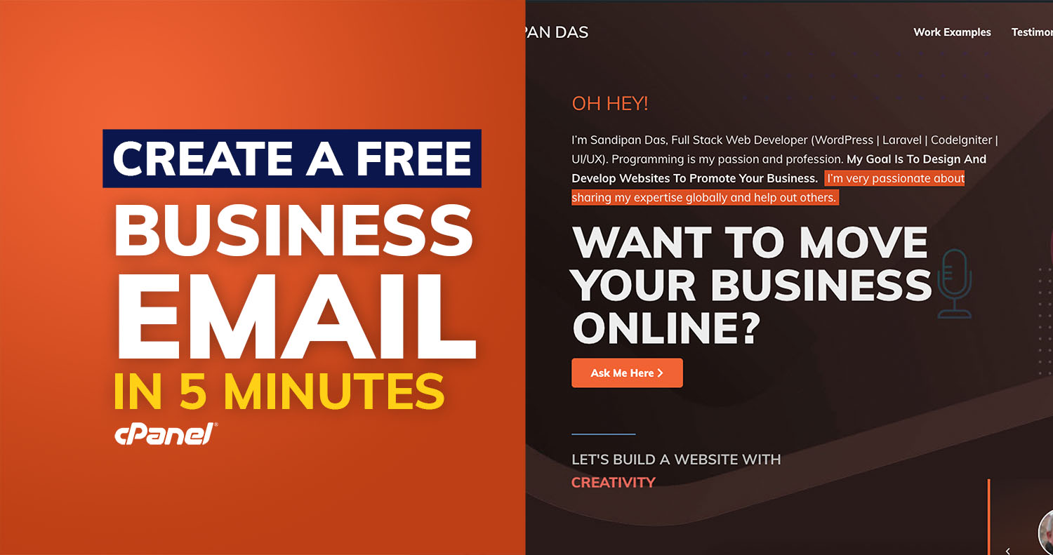 Create a FREE Business email in 5 minutes